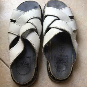 Doc martens slip on sandal